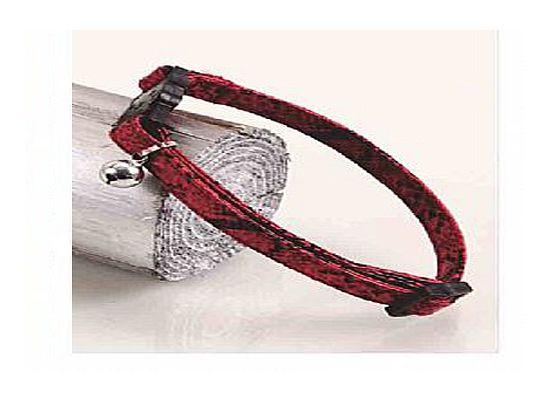 Περιλαίμιο PU Red Snake