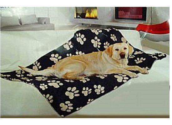 Kουβέρτα σκύλου με πατούσες