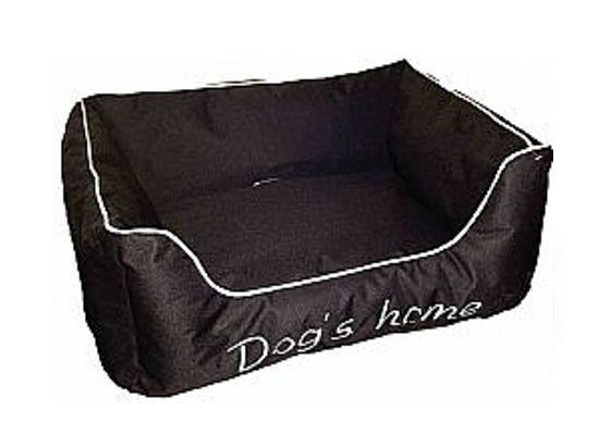 Kρεβάτι poly μαύρο Dog home