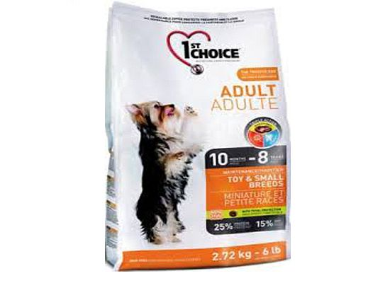 1St Choice Adult – Toy & Small Breeds