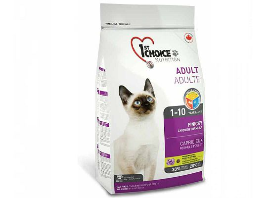 1St Choice Adult 1+ Years, Finicky, Chicken Formula