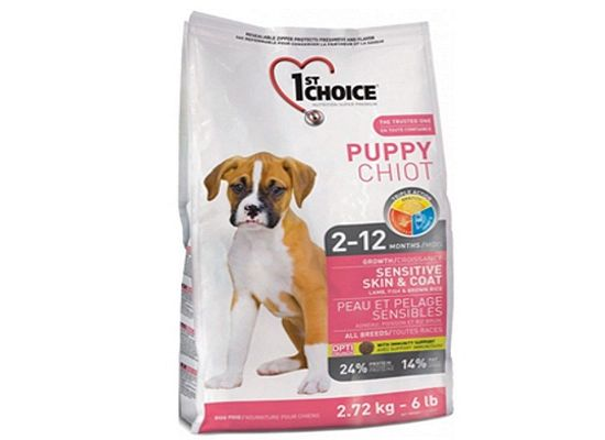 1St Choice Puppy - All Breeds lamb & fish