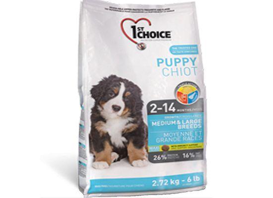 1St Choice Puppy – Medium & Large Breeds