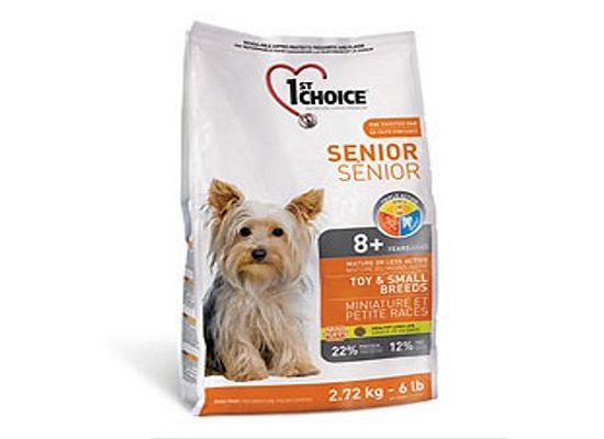 1St Choice Senior – Toy & Small Breeds