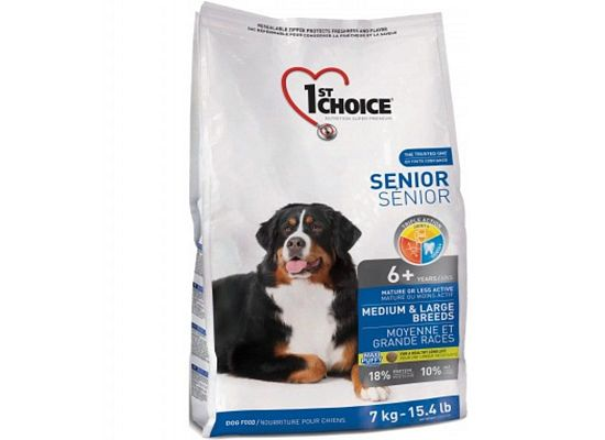 1St Choice Senior Medium & Large Breeds