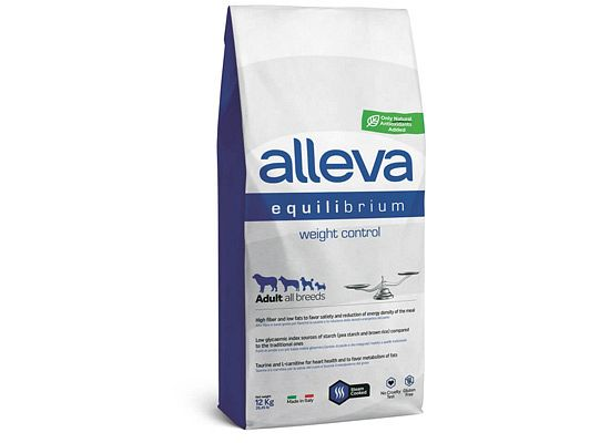 Alleva Equilibrium WEIGHT CONTROL ADULT ALL BREEDS DOG