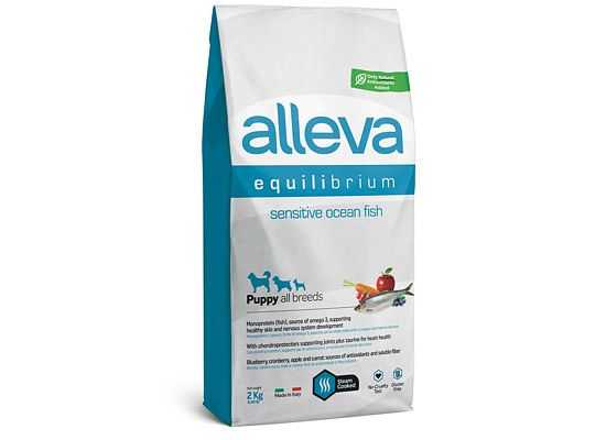 Alleva Equilibrium SENSITIVE OCEAN FISH PUPPY ALL BREEDS DOG