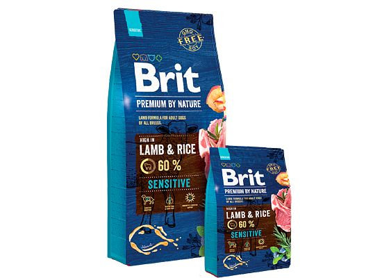 BRIT BY NATURE SENSITIVE LAMB & RICE
