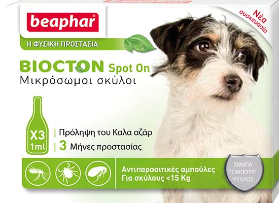 Beaphar Biocton Spot On – Αμπούλες