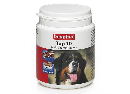 Beaphar Top 10 Dog – Πολυβιταμίνες για σκύλους 180 δισκία.