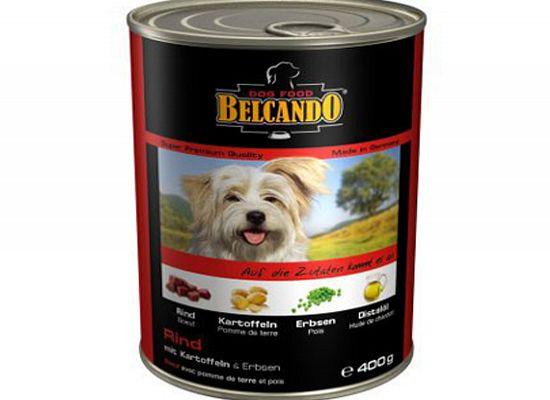 Belcando Κονσέρβα σκύλου. Συσκευασία 6 τεμάχια Χ 400gr σε μορφή πατέ.