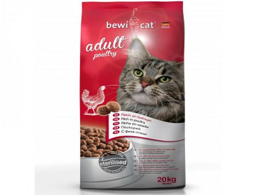 Bewi cat Adult poultry