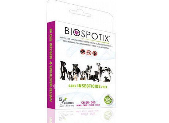 Biogance Biospotix dog spot on αντιπαρασιτικές αμπούλες