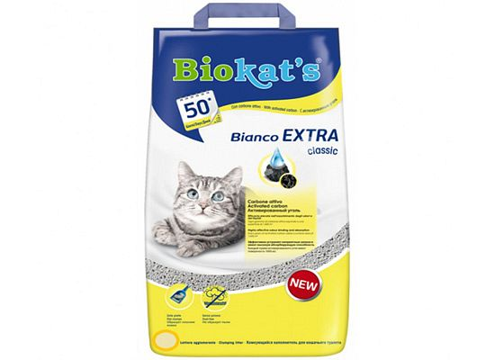 Biokat's Bianco Extra Classic.