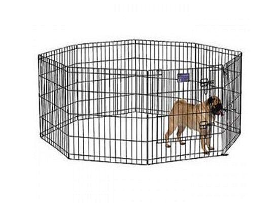Bon Οκτάγωνο πάρκο σκύλου με δυνατότητα αυξομείωσης του χώρου.