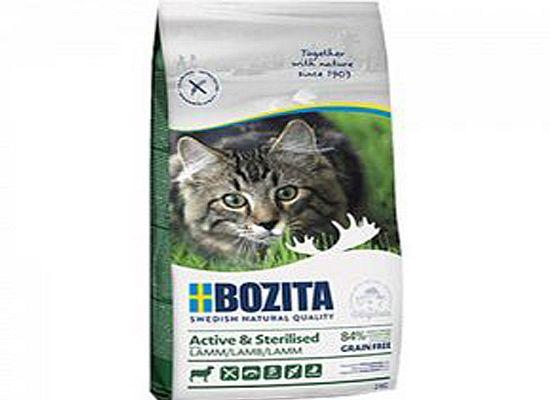 Bozita Active & Sterilised grain free lamb
