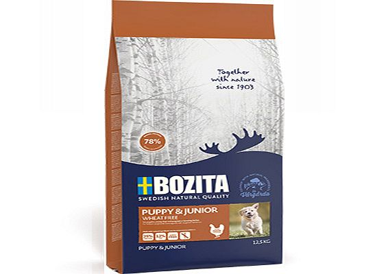 Bozita Bozita Puppy & Junior Wheat free