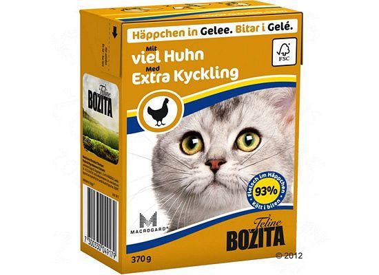 Bozita Chunks in Jelly grain free