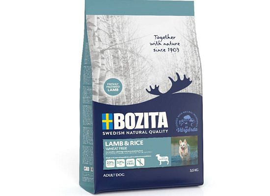 Bozita Lamb & Rice single protein Wheat free