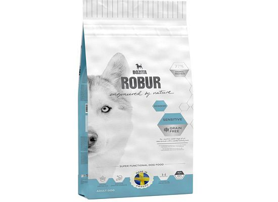 Bozita Robur Sensitive Grain Free Τάρανδος