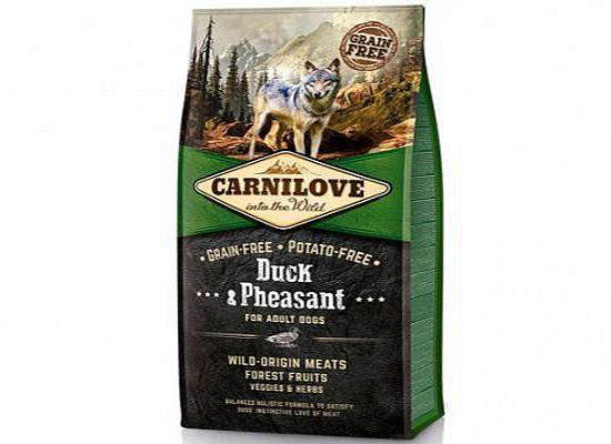 Brit Carnilove Duck & Pheasant Formula Adult – Grain free