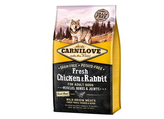 Brit Carnilove Fresh Chicken & Rabbit