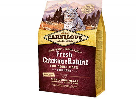 Brit Carnilove Fresh Chicken & Rabbit – GOURMAND