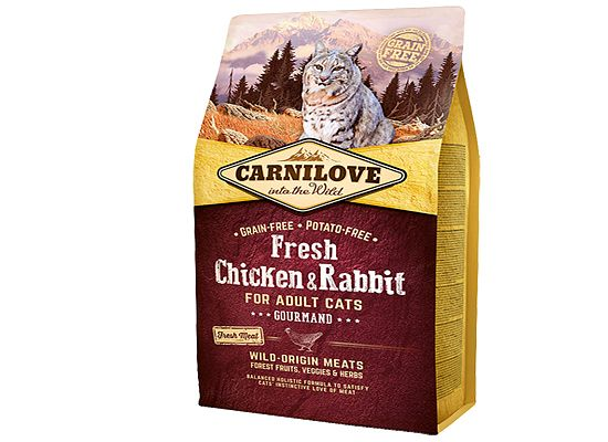 Brit Carnilove Fresh Chicken & Rabbit – GOURMAND