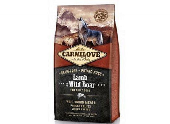 Brit Carnilove Lamb & Wild Boar – Grain free