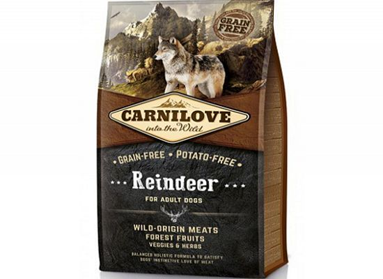 Brit Carnilove Reindeer Adult – Grain Free