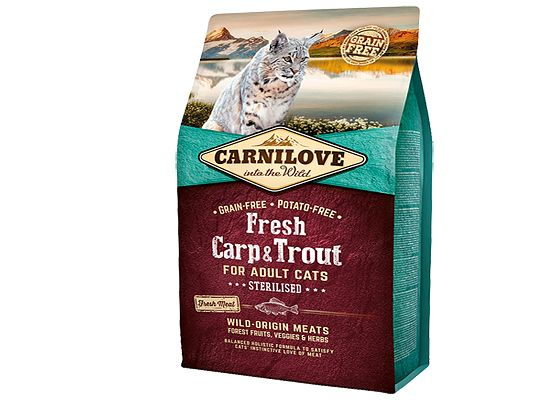 Brit Carnilove Sterilized. Fresh Carp & Trout