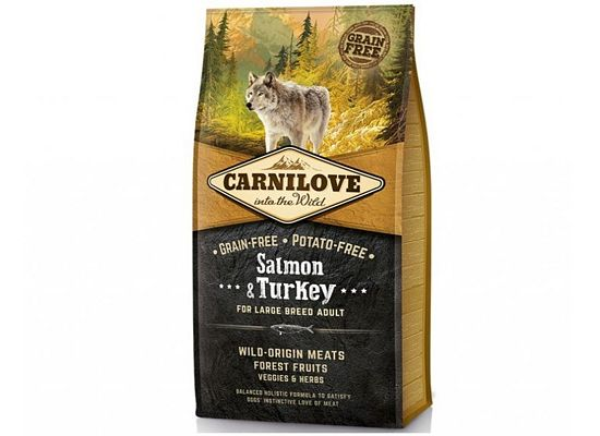 Brit Carnilove adult For Large Breed Salmon & Turkey
