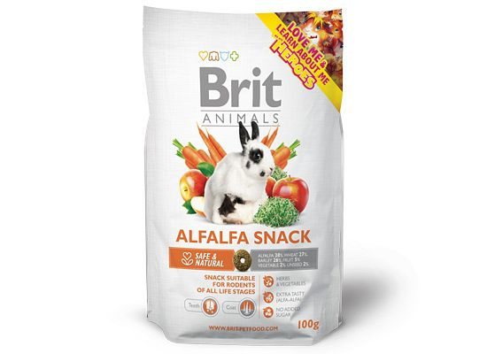 Brit Animals Αlfalfa Snack