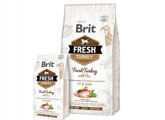 Brit Fresh Adult Fit & Slim. Turkey with Pea