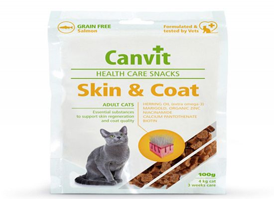 Canvit Skin & Coat cat