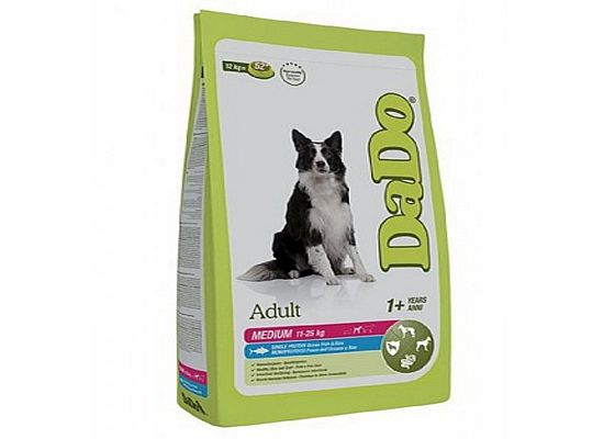 Dado Adult – Medium Breeds Ocean Fish & Rice Formula