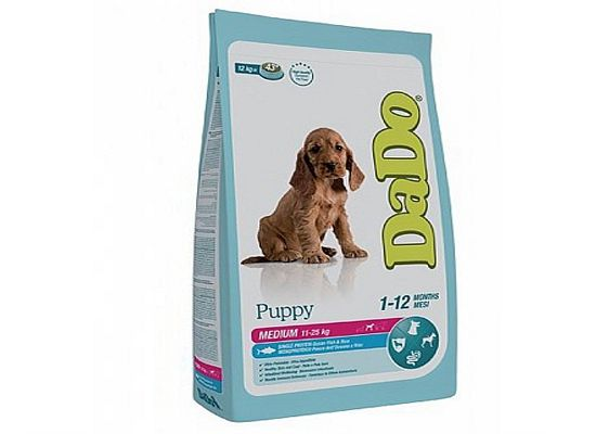Dado Puppy – Medium Breeds – Ocean Fish & Rice Formula