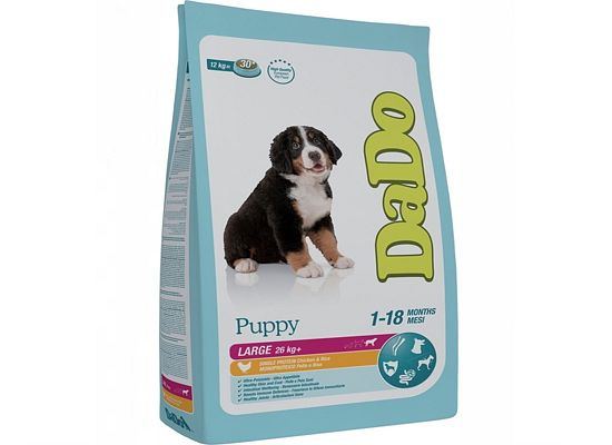 Dado Puppy – Large Breeds Chicken & Rice Formula