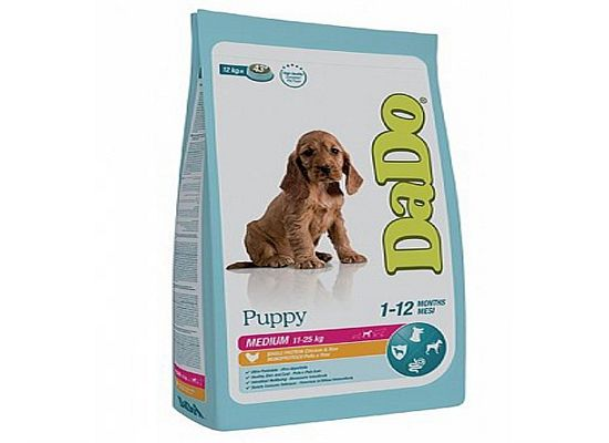 Dado Puppy – Medium Breeds Chicken & Rice Formula