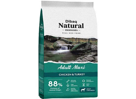 Dibaq Natural Moments Adult Maxi chicken & Turkey