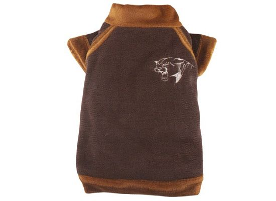 Doggy Dolly Fleece Tiger Brown