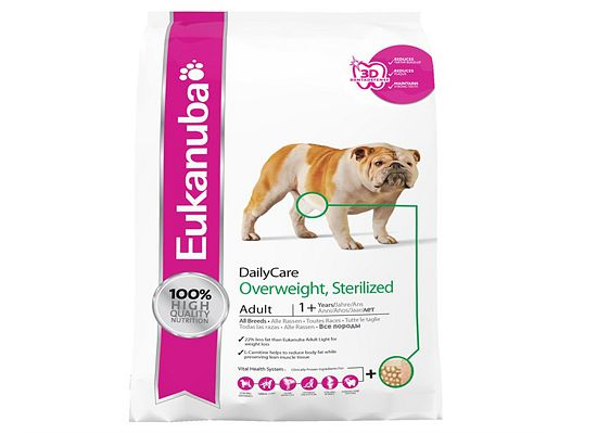 Eukanuba veterinary Adult Daily Care Overweight Sterilised