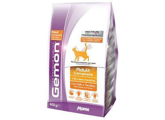 Gemon Adult Cat Complete Chicken &Turkey