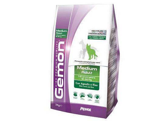 Gemon Medium Adult Lamb & Rice