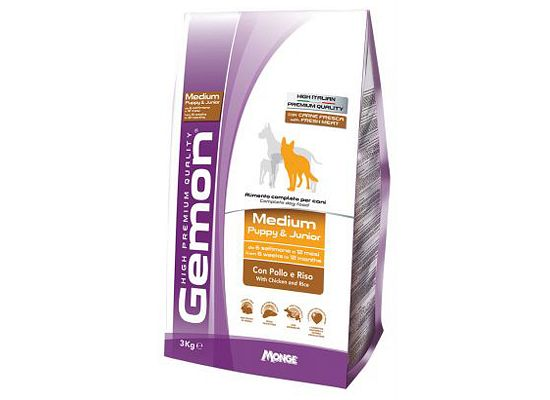 Gemon Medium Puppy Chicken & Rice
