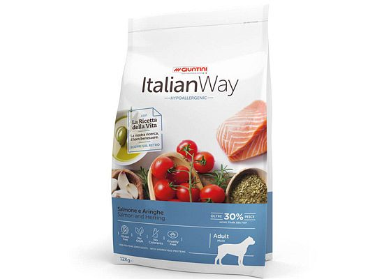 Giuntini Italian Way Maxi Hypoallergenic. Σολομός & Ρέγγα