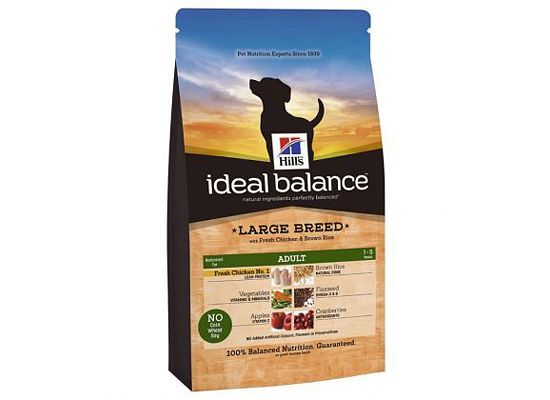 Hills Ideal Balance Canine Adult Large Breed with Fresh Chicken