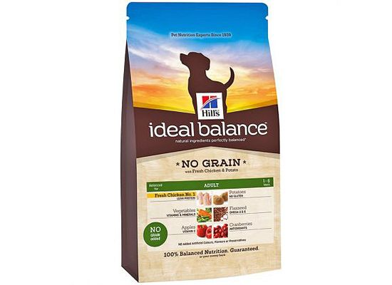 Hills Ideal Balance Canine Adult NO GRAIN with Fresh Chicken