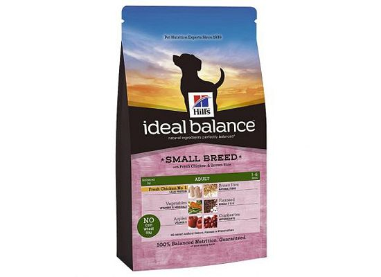 Hills Ideal Balance Canine Adult Small Breed with Fresh Chicken