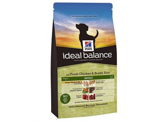 Hills Ideal Balance Canine Adult with Fresh Chicken & Brown Rice